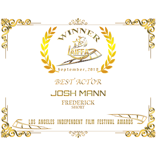 Josh Mann Best Actor WEB